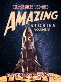 Cover Amazing Stories Volume 41
