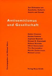 Cover Antisemitismus und Gesellschaft