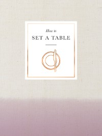 Cover How to Set a Table