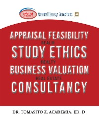 Cover Appraisal Feasibility Study Ethics Business Valuation Consultancy