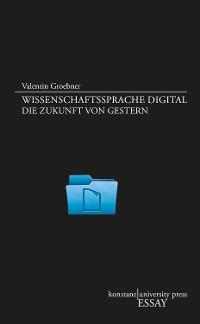 Cover Wissenschaftssprache digital