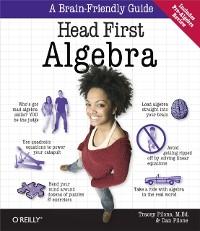 Cover Head First Algebra