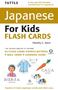 Cover Tuttle Japanese for Kids Flash Cards (CD)