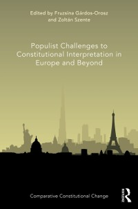 Cover Populist Challenges to Constitutional Interpretation in Europe and Beyond