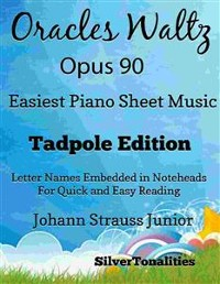 Cover Oracles Waltz Opus 90 Easiest Piano Sheet Music Tadpole Edition