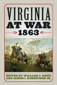 Cover Virginia at War, 1863