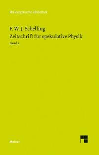 Cover Zeitschrift für spekulative Physik