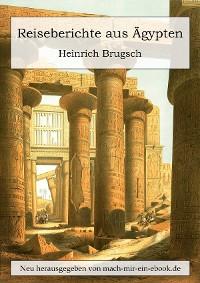Cover Reiseberichte aus Ägypten