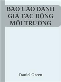 Cover báo cáo đánh giá tác động môi trường DTM