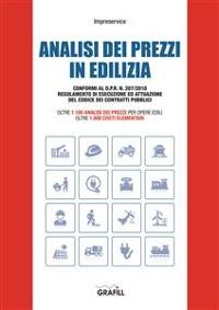 Cover 1.100 analisi dei prezzi per opere edili oltre 1.000 costi elementari