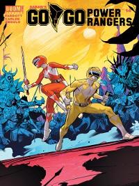 Cover Saban's Go Go Power Rangers, Issue 14