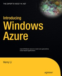 Cover Introducing Windows Azure