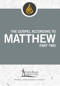 Cover The Gospel According to Matthew, Part One