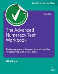 Cover Advanced Numeracy Test Workbook