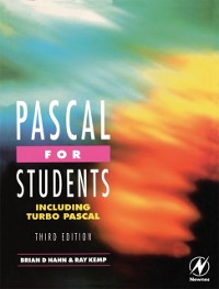 Cover Pascal for Students (including Turbo Pascal)