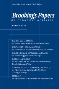 Cover Brookings Papers on Economic Activity: Spring 2019