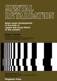 Cover Mental Retardation