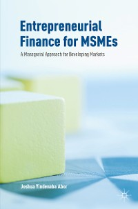 Cover Entrepreneurial Finance for MSMEs
