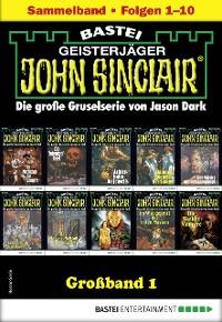 Cover John Sinclair Großband 1 - Horror-Serie
