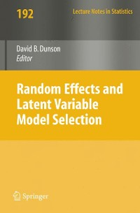 Cover Random Effect and Latent Variable Model Selection