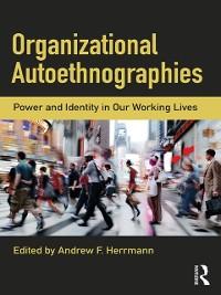 Cover Organizational Autoethnographies