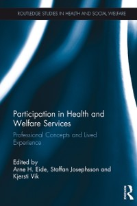 Cover Participation in Health and Welfare Services