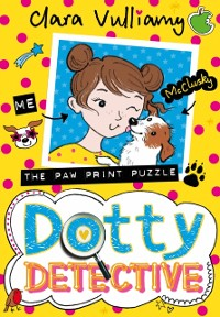 Cover Paw Print Puzzle (Dotty Detective, Book 2)