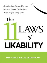 Cover The 11 Laws of Likability