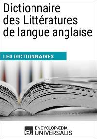 Cover Dictionnaire des Littératures de langue anglaise