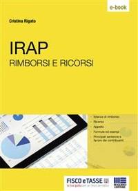 Cover IRAP rimborsi e ricorsi