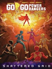 Cover Saban's Go Go Power Rangers, Volume 3