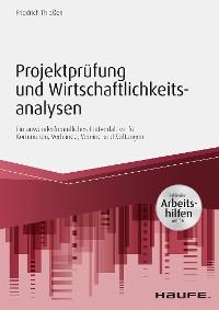 Cover Projektprüfung und Wirtschaftlichkeitsanalysen - inkl. Arbeitshilfen online