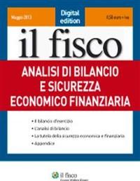 Cover Analisi di bilancio e sicurezza economica e finanziaria