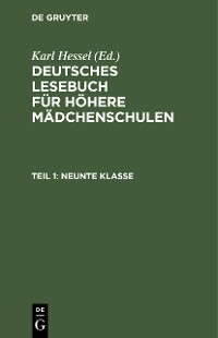Cover Neunte Klasse