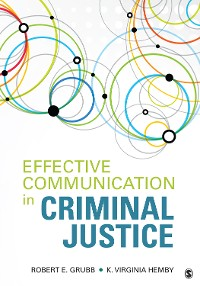 Cover Effective Communication in Criminal Justice