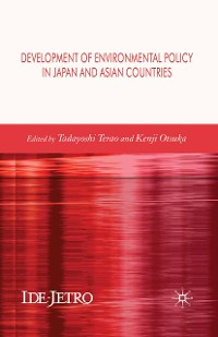 Cover Development of Environmental Policy in Japan and Asian Countries