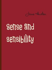 Cover Sense and sensibility