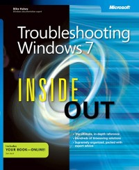 Cover Troubleshooting Windows 7 Inside Out