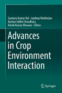 Cover Advances in Crop Environment Interaction