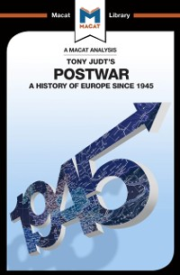 Cover Analysis of Tony Judt's Postwar