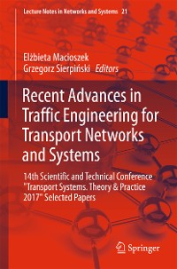 Cover Recent Advances in Traffic Engineering for Transport Networks and Systems