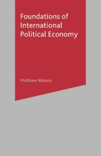 Cover Foundations of International Political Economy