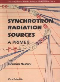 Cover Synchrotron Radiation Sources - A Primer