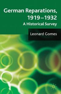 Cover German Reparations, 1919 - 1932