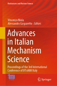 Cover Advances in Italian Mechanism Science