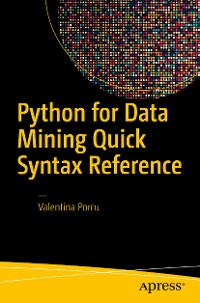 Cover Python for Data Mining Quick Syntax Reference