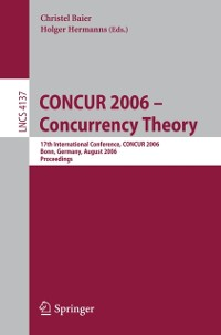 Cover CONCUR 2006 - Concurrency Theory