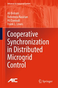 Cover Cooperative Synchronization in Distributed Microgrid Control