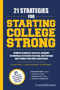 Cover 21 Strategies for Starting College Strong