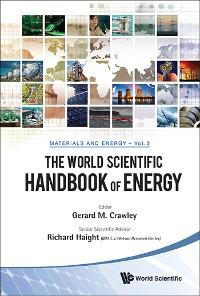 Cover World Scientific Handbook Of Energy, The